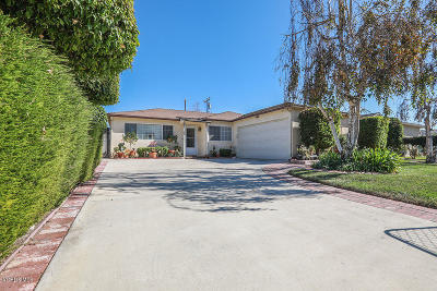 Port Hueneme Single Family Home Active Under Contract: 1514 5th Street