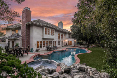 Westlake Village CA Single Family Home For Sale: $2,200,000