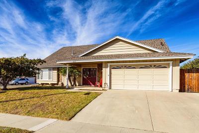 Ventura Single Family Home For Sale: 8259 Balboa Street