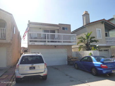 Oxnard Single Family Home For Sale: 276 Melrose Drive