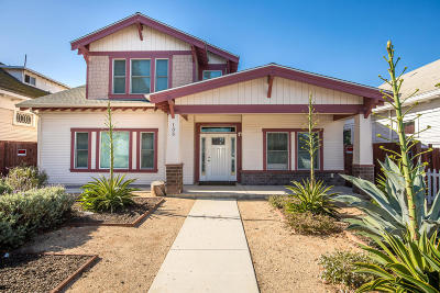 Oxnard Single Family Home For Sale: 135-137 S C Street
