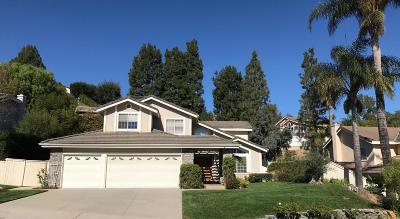 Camarillo Single Family Home For Sale: 705 Vista Coto Verde