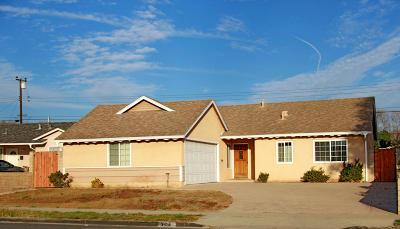 Ventura Single Family Home For Sale: 380 S Brookshire Avenue