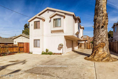 Ventura Multi Family Home Active Under Contract: 269 - 271 E Warner Street