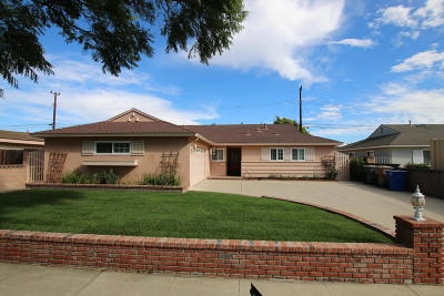 Camarillo Single Family Home For Sale: 894 Durkin Street