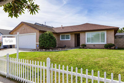 Oxnard Single Family Home For Sale: 2401 Dupont Street