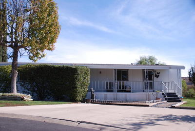 Moorpark Mobile Home For Sale: 15750 Arroyo Drive #43
