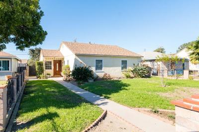Oxnard Single Family Home For Sale: 1159 S J Street