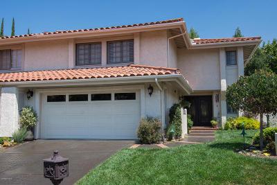 Westlake Village Single Family Home For Sale: 1661 Plum Hollow Circle