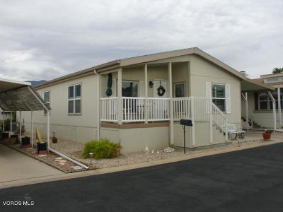 Ojai Mobile Home For Sale: 134 Don Felipe Way