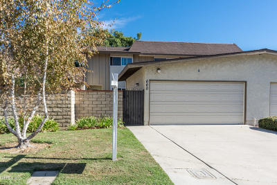Camarillo Single Family Home Active Under Contract: 660 Onda Drive