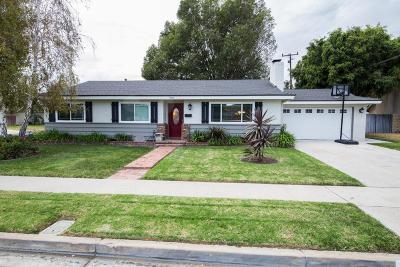 Camarillo Single Family Home Active Under Contract: 1707 Jose Avenue