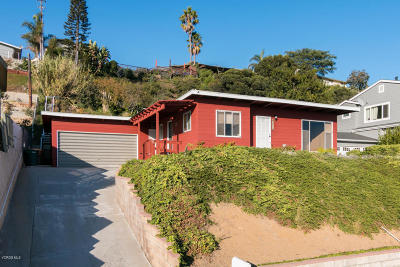 Ventura Single Family Home For Sale: 3225 Hilltop Drive