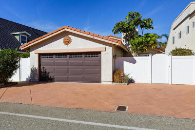 Oxnard Single Family Home For Sale: 4955 Marlin Way