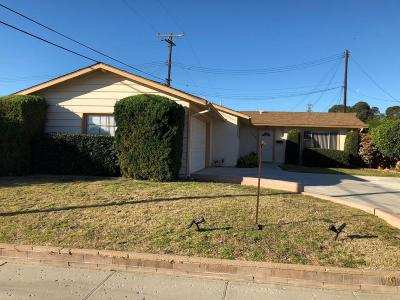 Ventura Single Family Home For Sale: 105 Harding Avenue