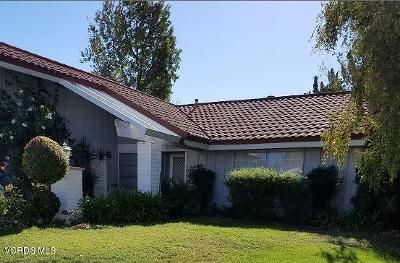 Ventura County Single Family Home Active Under Contract: 2338 Burnside Street