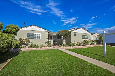 Oxnard Single Family Home For Sale: 301 Spruce Street