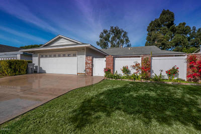 Oxnard Single Family Home Active Under Contract: 3611 Via Marina Avenue