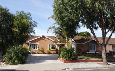 Ventura CA Single Family Home For Sale: $585,000
