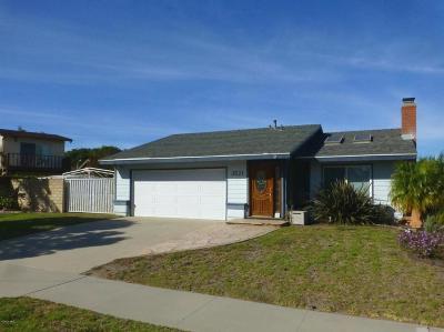 Oxnard Single Family Home For Sale: 3521 Via Marina Avenue