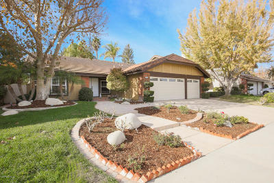Thousand Oaks Single Family Home For Sale: 3419 Fayance Place