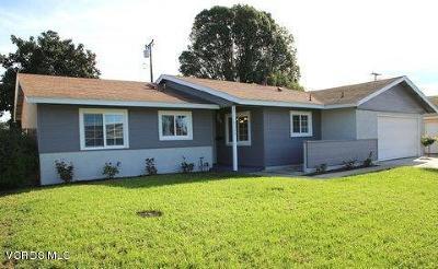 Camarillo Single Family Home Active Under Contract: 2134 Cambon Avenue