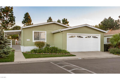 Oxnard Mobile Home Active Under Contract: 470 Raspberry Place #30