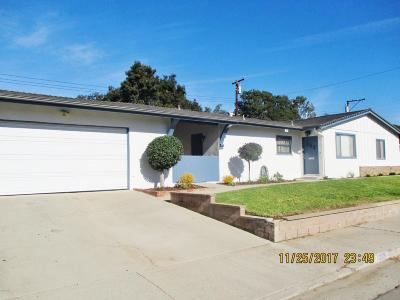Santa Paula Single Family Home For Sale: 1209 Hawthorne Street