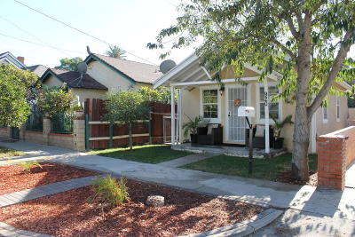 Santa Paula Single Family Home For Sale: 920 E Pleasant Street
