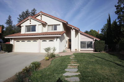 Thousand Oaks Single Family Home For Sale: 3446 Trailview Court