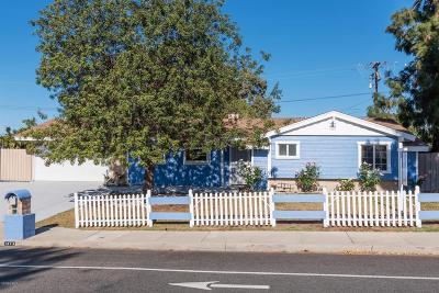 Thousand Oaks Single Family Home Active Under Contract: 1075 E Avenida De Los Arboles