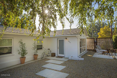 Ojai Single Family Home For Sale: 403 Franklin Drive