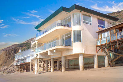 Westlake Village, Thousand Oaks, Oak Park, Agoura Hills, Simi Valley, Malibu Single Family Home For Sale: 11344 Pacific Coast Highway