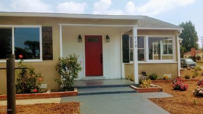 Oxnard Single Family Home For Sale: 710 C Street
