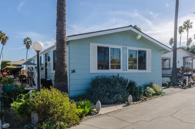 Ventura Mobile Home Active Under Contract: 1215 Anchors Way Drive #38