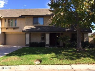 Camarillo Single Family Home Active Under Contract: 663 Deerhunter Lane