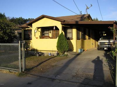 Santa Paula Multi Family Home For Sale: 335 S 8th Street