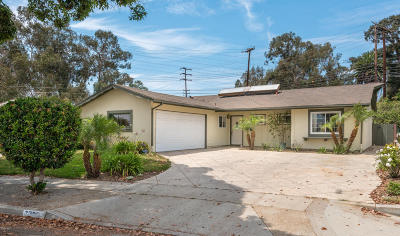 Ventura Single Family Home For Sale: 7201 Coolidge Street