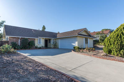 Santa Paula Single Family Home Active Under Contract: 420 Steckel Drive