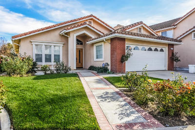 Newbury Park Single Family Home For Sale: 1871 Fox Springs Circle