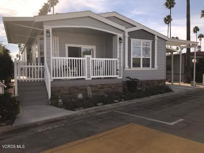 Ventura Mobile Home For Sale: 1215 Anchors Way Drive #138