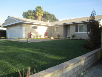 Newbury Park Single Family Home Active Under Contract