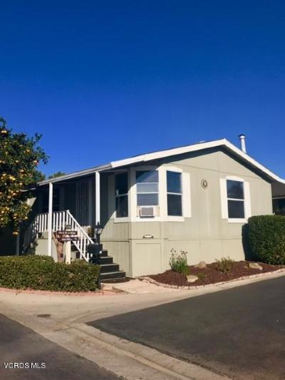 Camarillo Mobile Home Active Under Contract: 30 Via Paloma