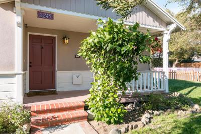 Ventura Single Family Home For Sale: 2245 Katherine Avenue