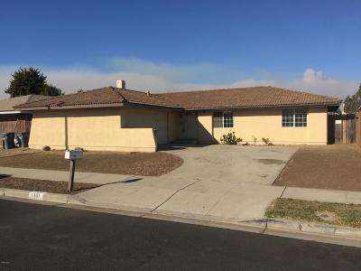 Oxnard Single Family Home For Sale: 1361 Juneberry Place