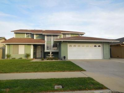 Oxnard Single Family Home Active Under Contract: 2068 Pamela Street