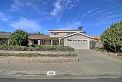 Camarillo Single Family Home For Sale: 559 Calle Higuera