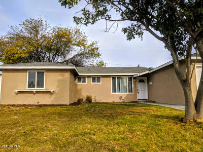 Santa Paula Single Family Home For Sale: 335 Dartmouth Road