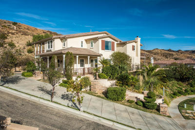 Simi Valley Single Family Home For Sale: 4965 Thorn Ridge Court