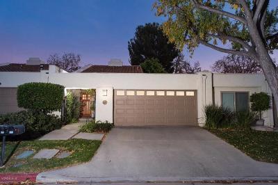 Thousand Oaks Single Family Home For Sale: 628 Racquet Club Lane